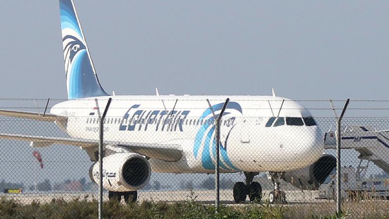 A repülő Cipruson szállt le / Fotó: AFP