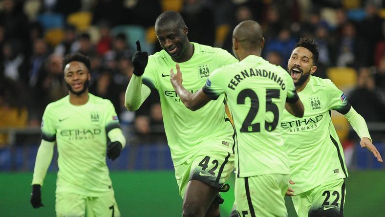 Yaya Touré (középen) szinte biztosan a következő körbe juttatta a Cityt /Fotó: AFP