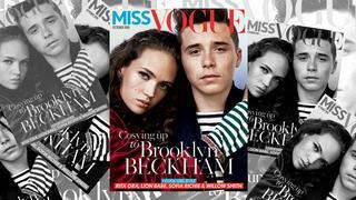 Brooklyn Beckham po raz pierwszy na okładce. I to Vogue'a!