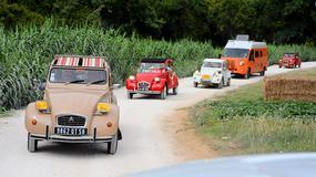 Citroën 2CV World Meeting na portugalskiej plaży