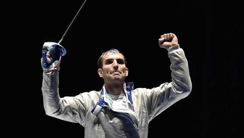 Szilágyi Áron biztos riói résztvevő /Fotó: AFP