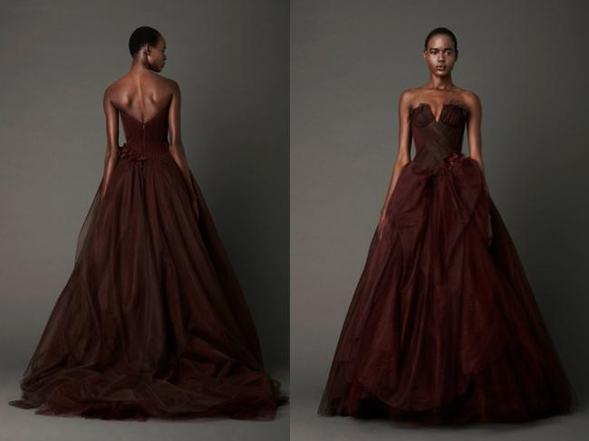 Vera Wang - Spring 2013 - Red Collection