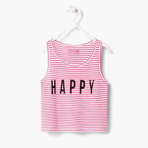 Różowe koszulki dla małych fashionistek
