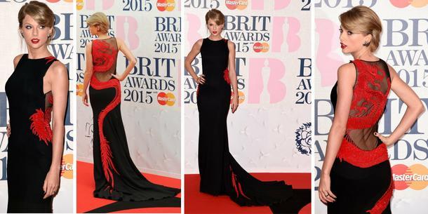 Best Look: Taylor Swift w sukience Roberto Cavalli Atelier