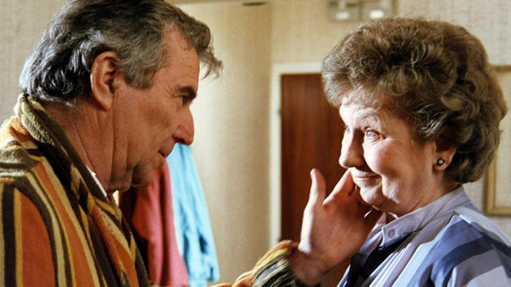 Meghatározó volt a sorozat sikerében a két színész.