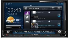 Radio z WiFi i Android 4.0: Kenwood DNN9230
