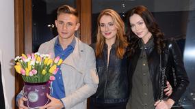 Jakub Rzeźniczak i Edyta Zając na otwarciu butiku