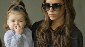 Harper Beckham każdą kreacje ma na sobie tylko raz!