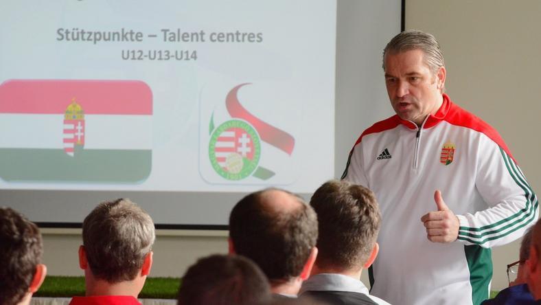 Bernd Storck, a válogatott szövetségi kapitánya képzett futballgenerációt szeretne nevelni /Fotó: mlsz.hu