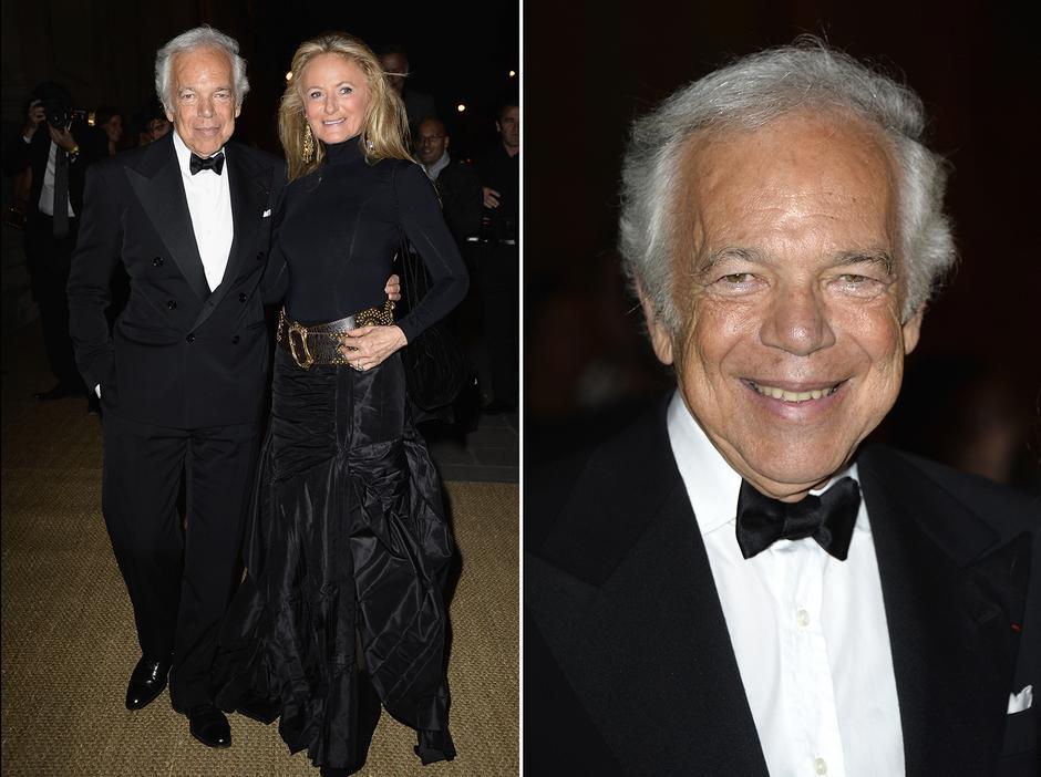 Ralph Lauren z żoną Ricky Anne Loew-Beer