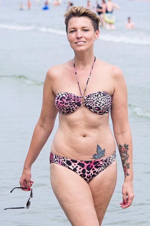 Ilona Felicjańska w bikini - Plejada.pl