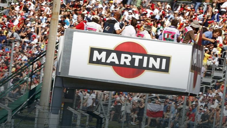 Reklama alkoholu na torze F1