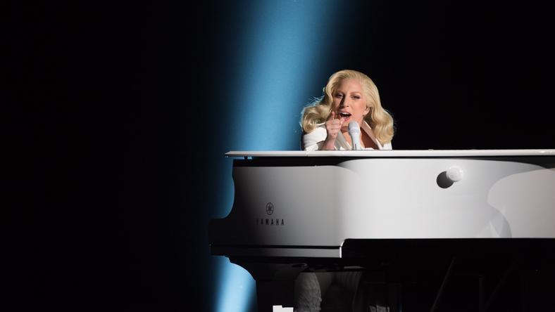 Lady Gaga előadása az Oscar-díj-átadón/ Fotó: Northfoto