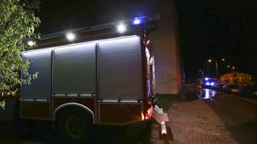 Pożar bloku w Zielonej Górze. Trzy osoby ciężko ranne, około 100 osób ewakuowanych