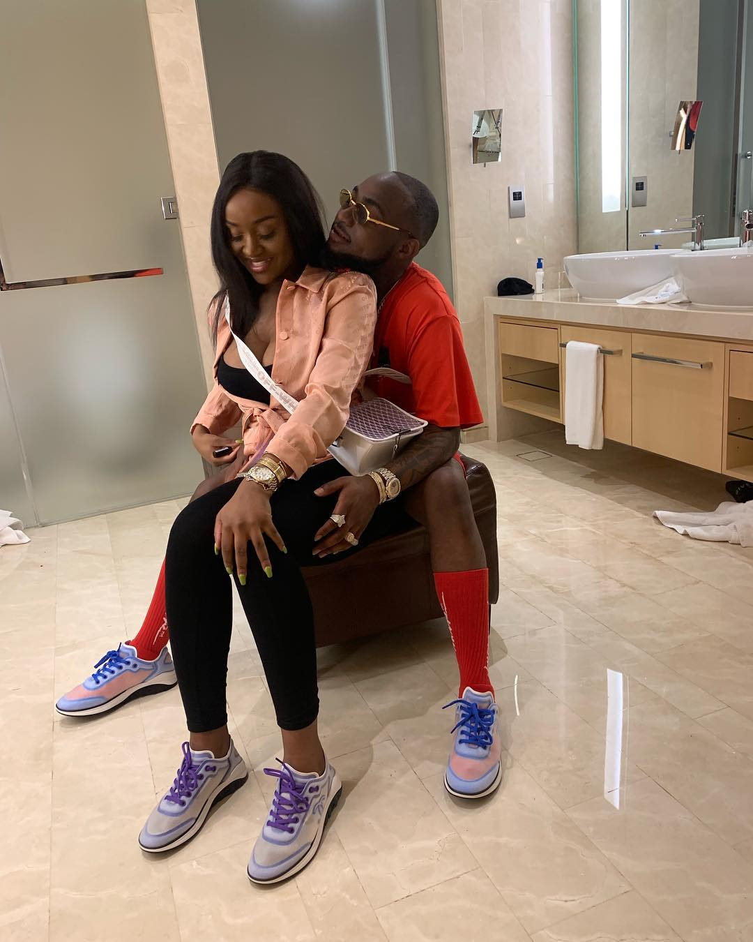 758af35a98d36d96f8808d0df48eeaaa - Timeline of Davido and Chioma Avril Rowland's relationship