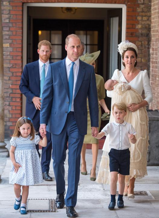 Lajos herceg keresztelőjén nagyon jól viselkedett a két nagyobb hercegi csemete.