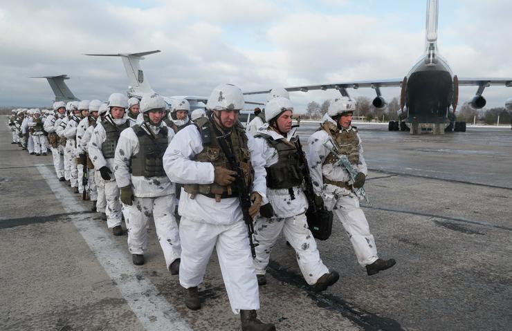 Senki nem tudja, mi lesz az ukrán válság vége / Fotó: MTI Szerhij Dolzsenko