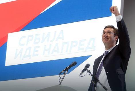 Miting SNS u Novom Sadu