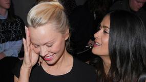 Pamela Anderson na Paris Fashion Week. Spójrzcie na jej twarz!
