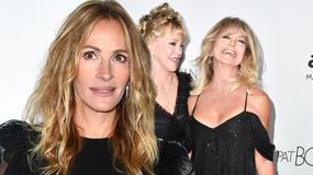 Julia Roberts, Goldie Hawn z głębokim dekoltem i inne gwiazdy na gali amfAR. Kto oczarował najbardziej?