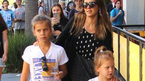 Jessica Alba z córkami. Podobne do mamy?
