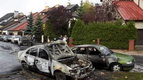 Gdańsk: spłonęło kilka samochodów