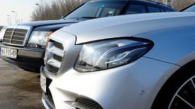 Nowy Mercedes klasy E kombi: co się zmieniło przez 30 lat?