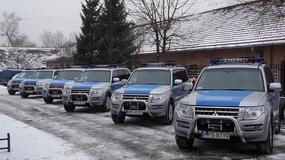 Mitsubishi Pajero dla małopolskiej policji