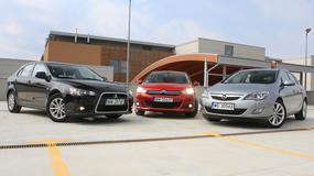 Mitsubishi Lancer kontra Opel Astra i Citroen C4 - który używany kompakt będzie lepszym wyborem?