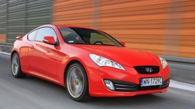 Hyundai Genesis Coupe: czerwony palacz gumy