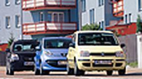Fiat Panda, Peugeot 107, Citroen C2 - Małe i z dieslami