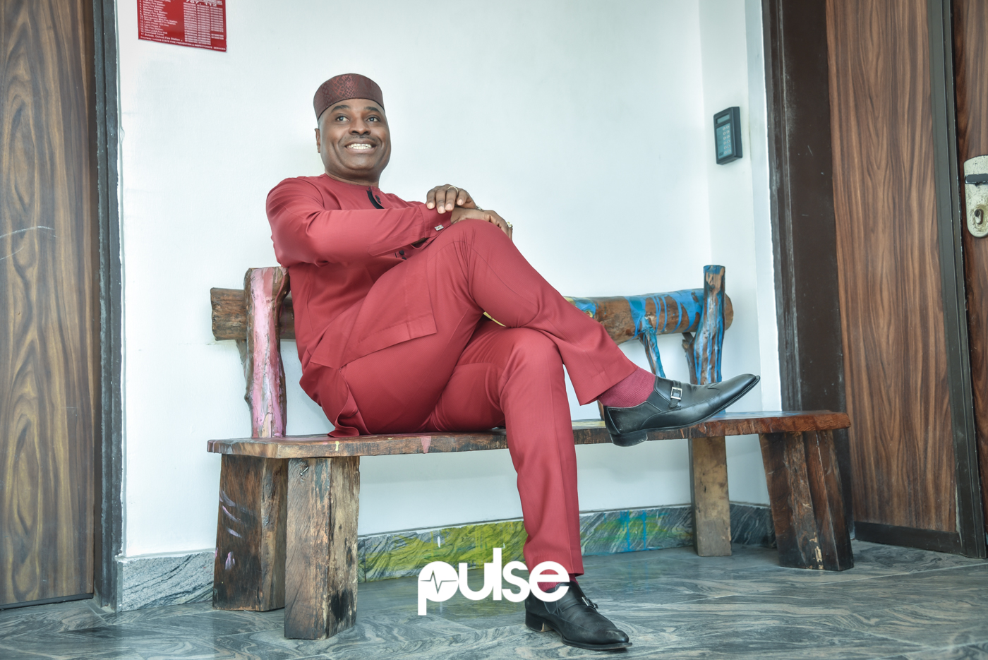To the business of the day, I asked Kenneth Okonkwo how he felt about returning to the set of the movie that propelled today's Nollywood. [PULSE]