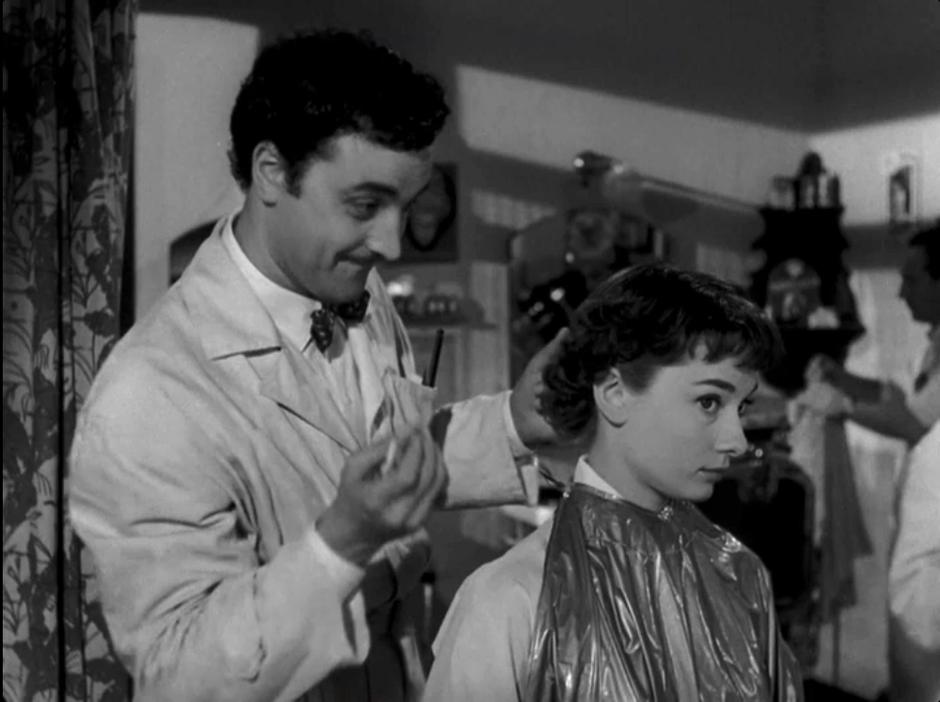 Kadr z filmu: Rzymskie wakacje