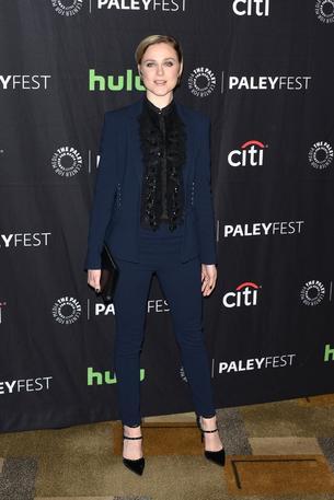 Best Look: Evan Rachel Wood w garniturze Roberto Cavalli