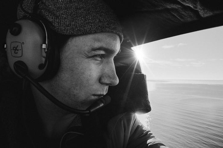 Tom Hegen, a fotók készítője / Fotó: Northfoto