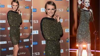 Best Look: Kasia Stankiewicz w sukience Agnieszki Maciejak