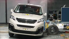 Testy Euro NCAP: dostawcze trojaczki na piątkę