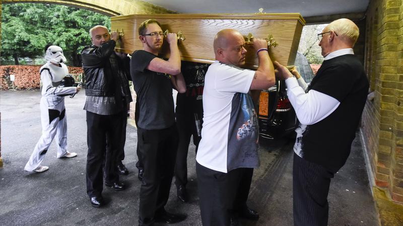 Star Wars temetés - Fotó: Profimedia-Reddot
