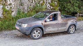 Dacia Duster pick-up: tajemniczy test