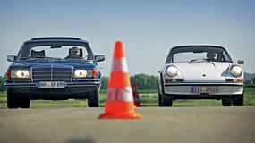 Moc przeciwko wadze lekkiej - Mercedes 350 SE kontra Porsche 911 T