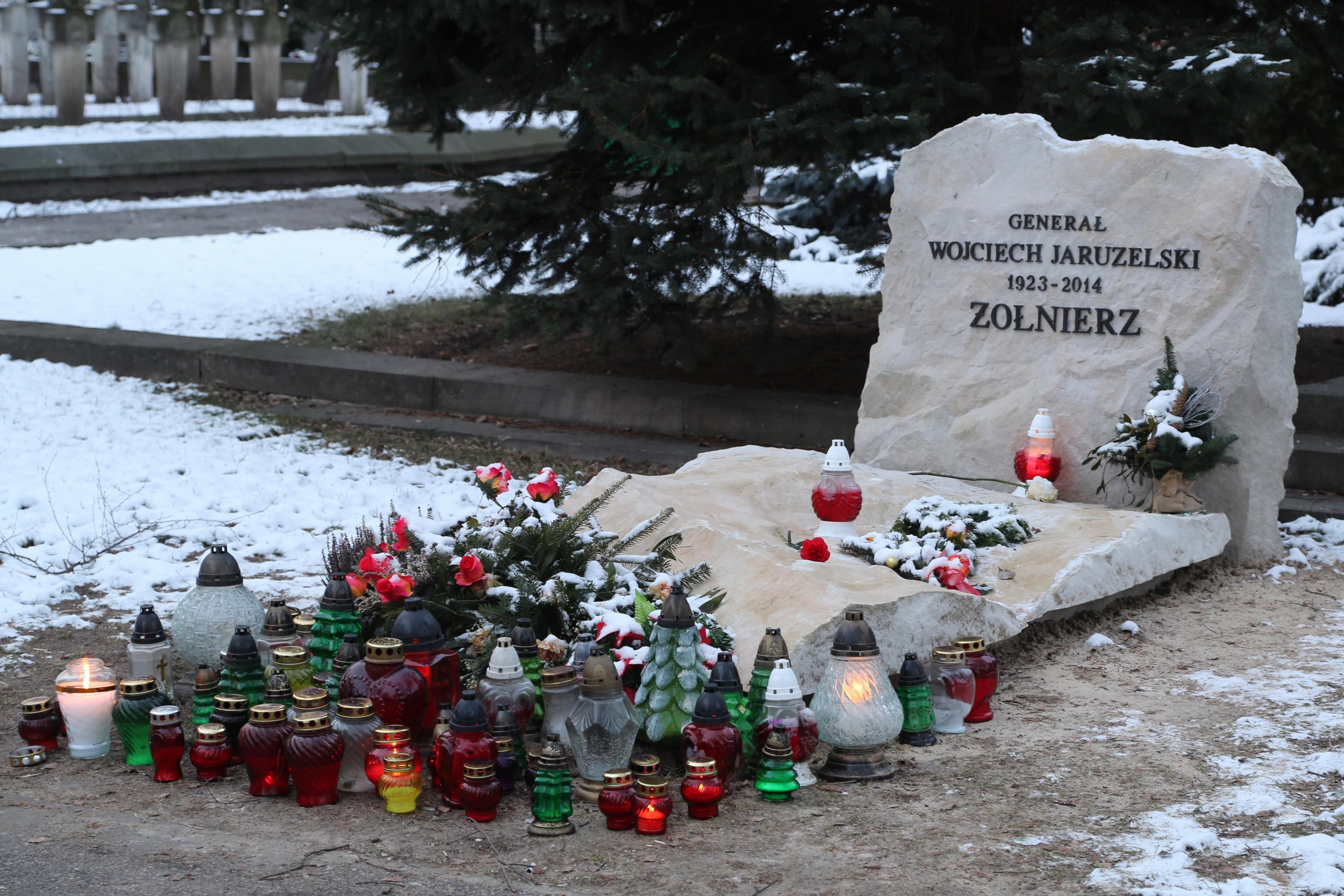 Image result for grob wojciecha jaruzelskiego