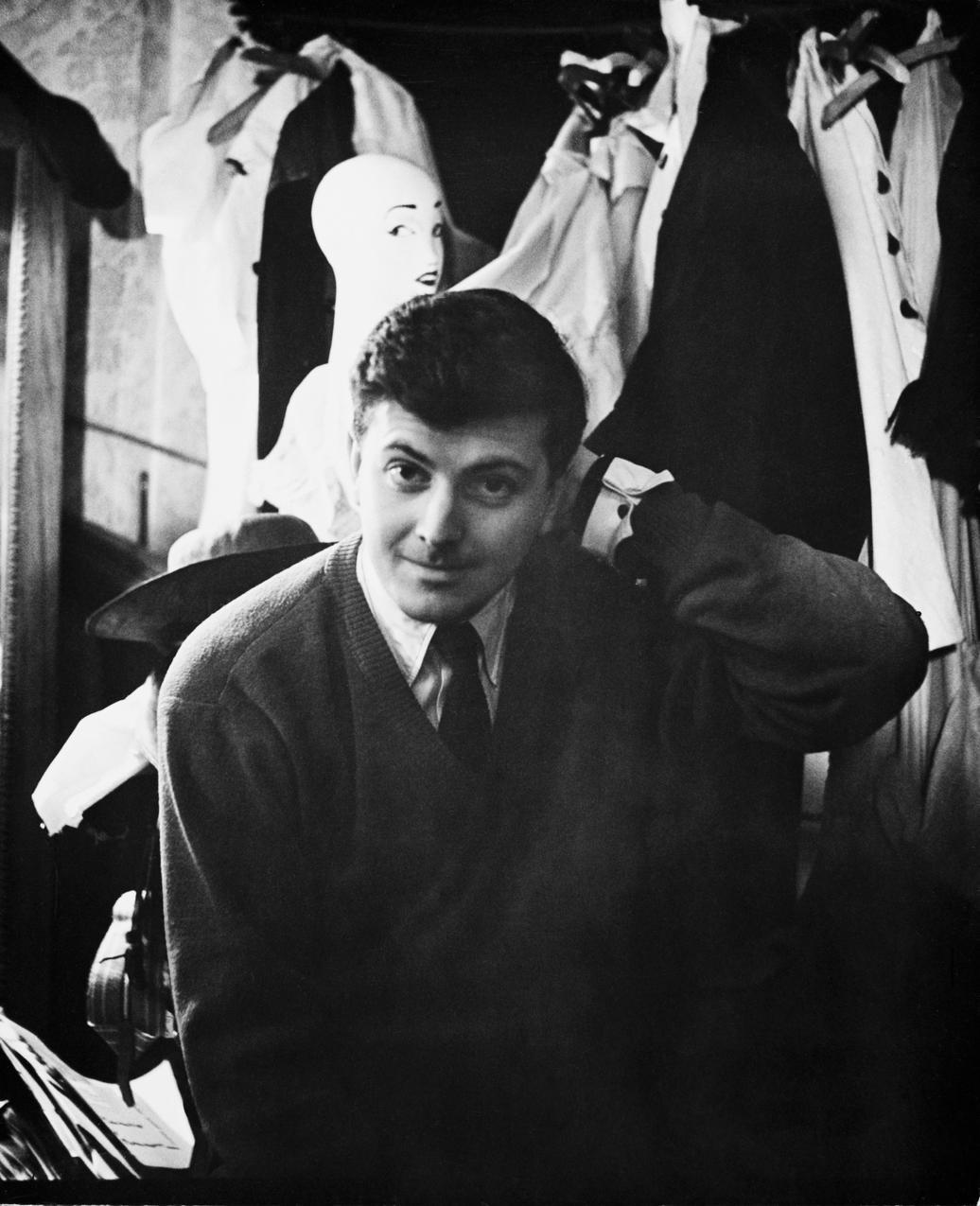 Hubert de Givenchy - lata pięćdziesiąte / Getty Images