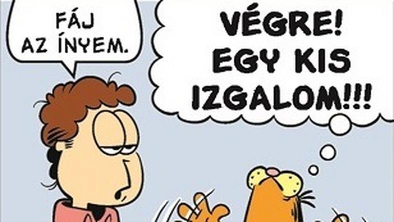 Jon és Garfield életében végre történik valami
