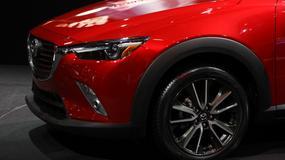 Mazda CX-3 - mały crossover (Nowy Jork 2015)