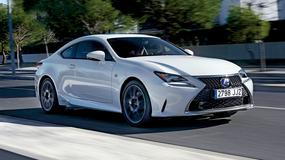 Nowości Lexusa - pierwsza jazda zmodernizowanymi modelami RC 300h i GS