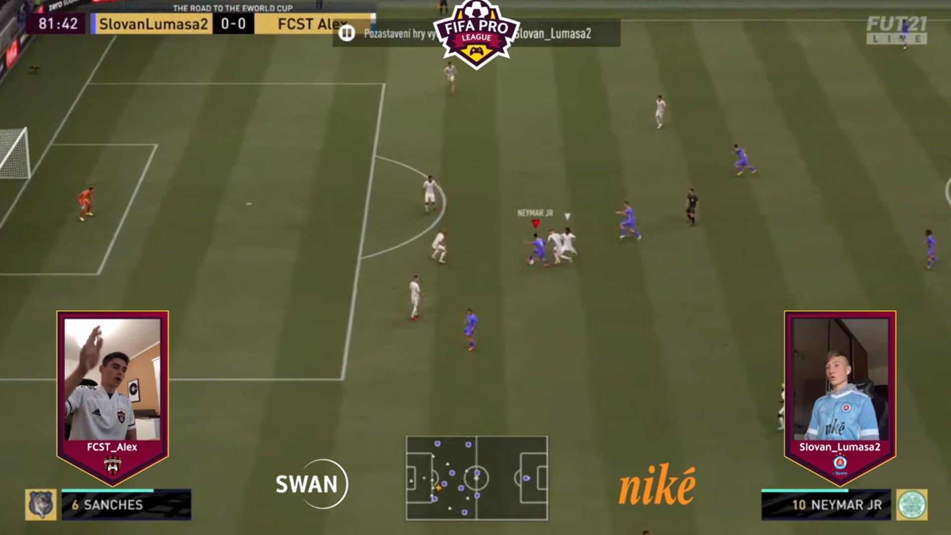 Aj virtuálne derby ovládol Spartak Trnava.