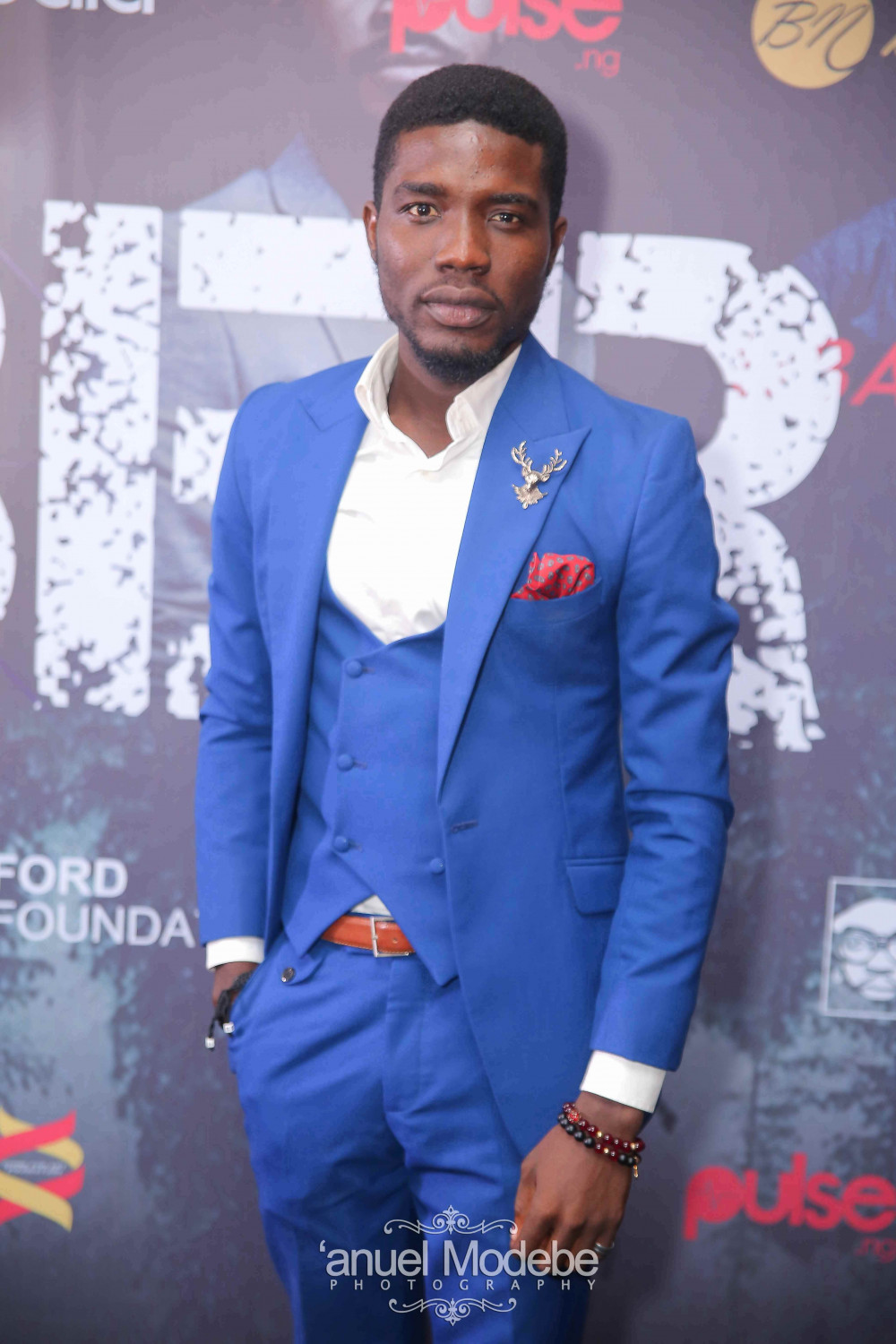 In 2018, Seun Ajayi opened up on his role as a naive young character in popular sitcom, 'Hustle' [Bella Naija]