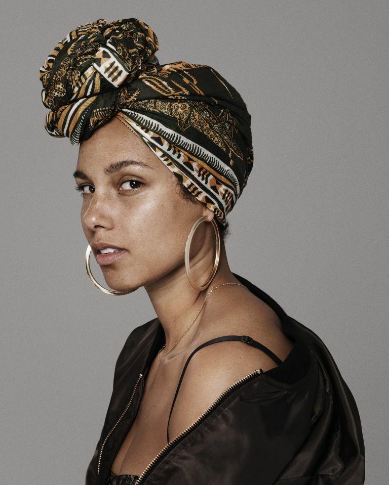 Alicia Keys rezygnuje z makijażu
