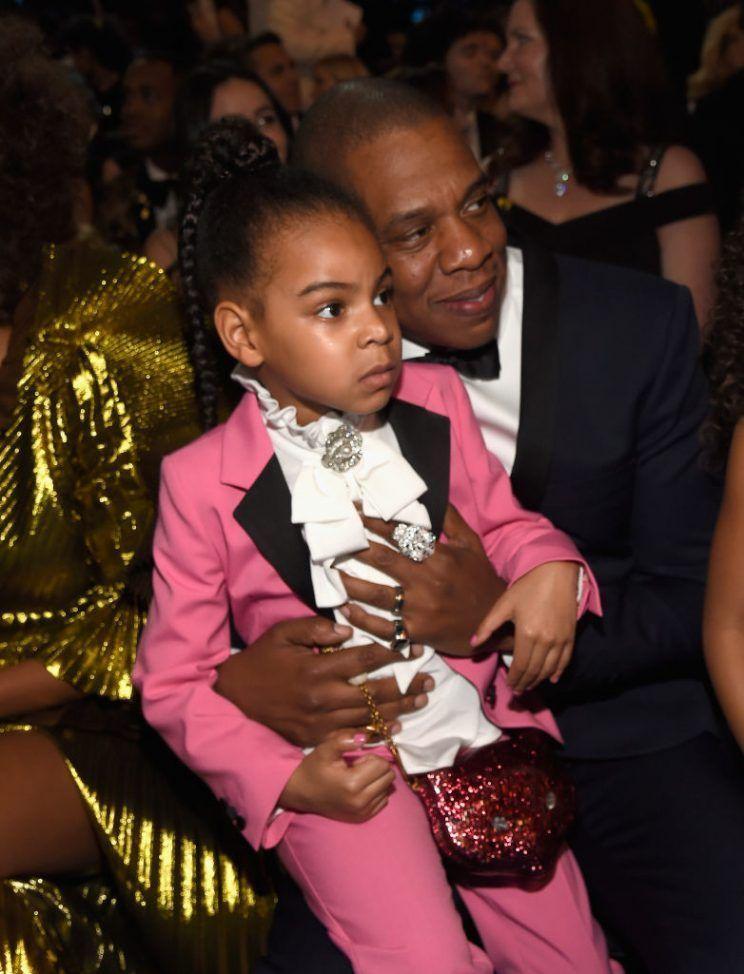 Jay Z z córeczką Blue Ivy