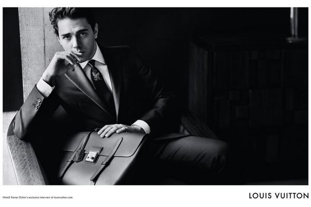 Xavier Dolan nową twarzą męskiej linii Louis Vuitton